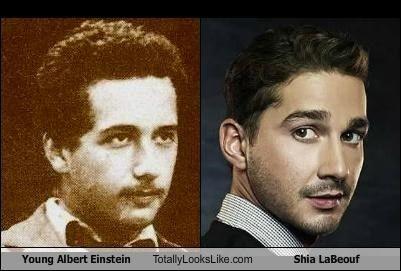Young Einstein looks l...