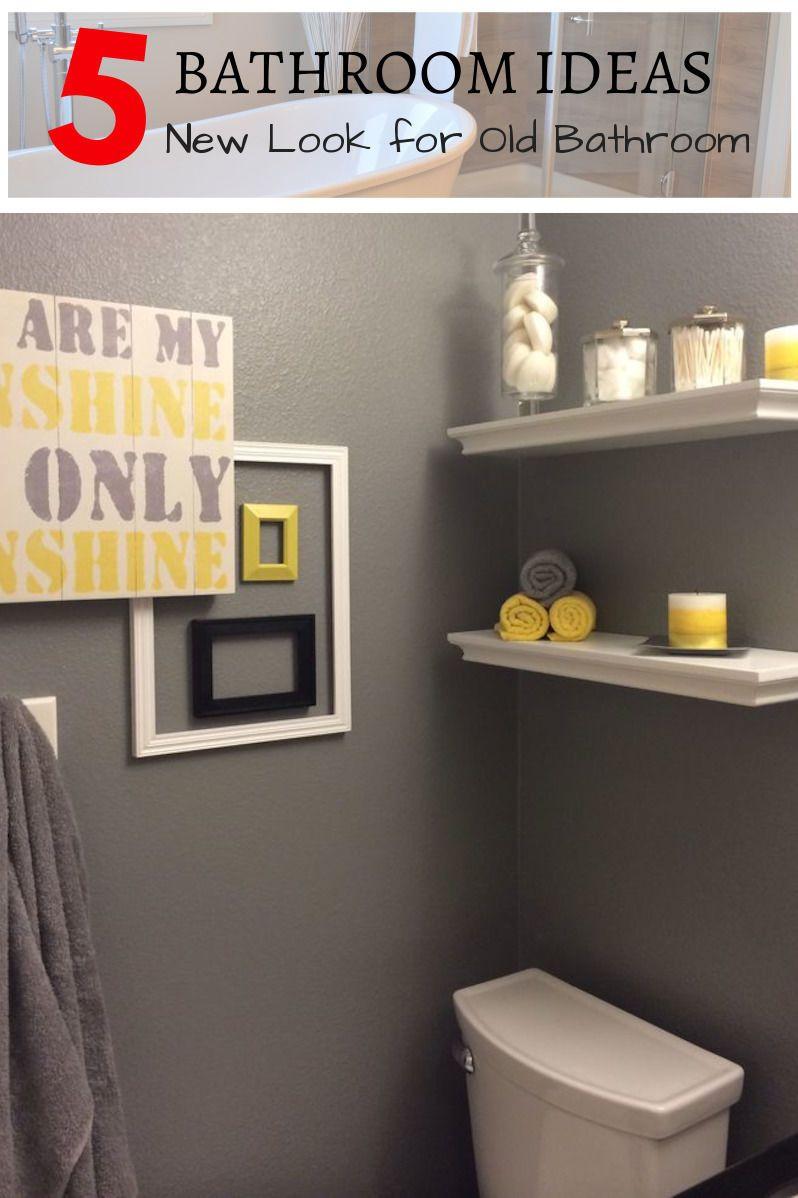 Simple And Beautiful Bathroom Decor Ideas For Your Next Bathroom Project Bathroom Remodel Yellow Bathroom Decor Gray Bathroom Decor Blue Bathroom Decor