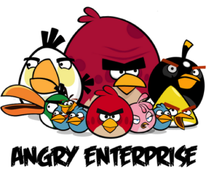 The Enterprise App Economy Angry Bird Pictures Angry Birds Stella Angry Birds Movie