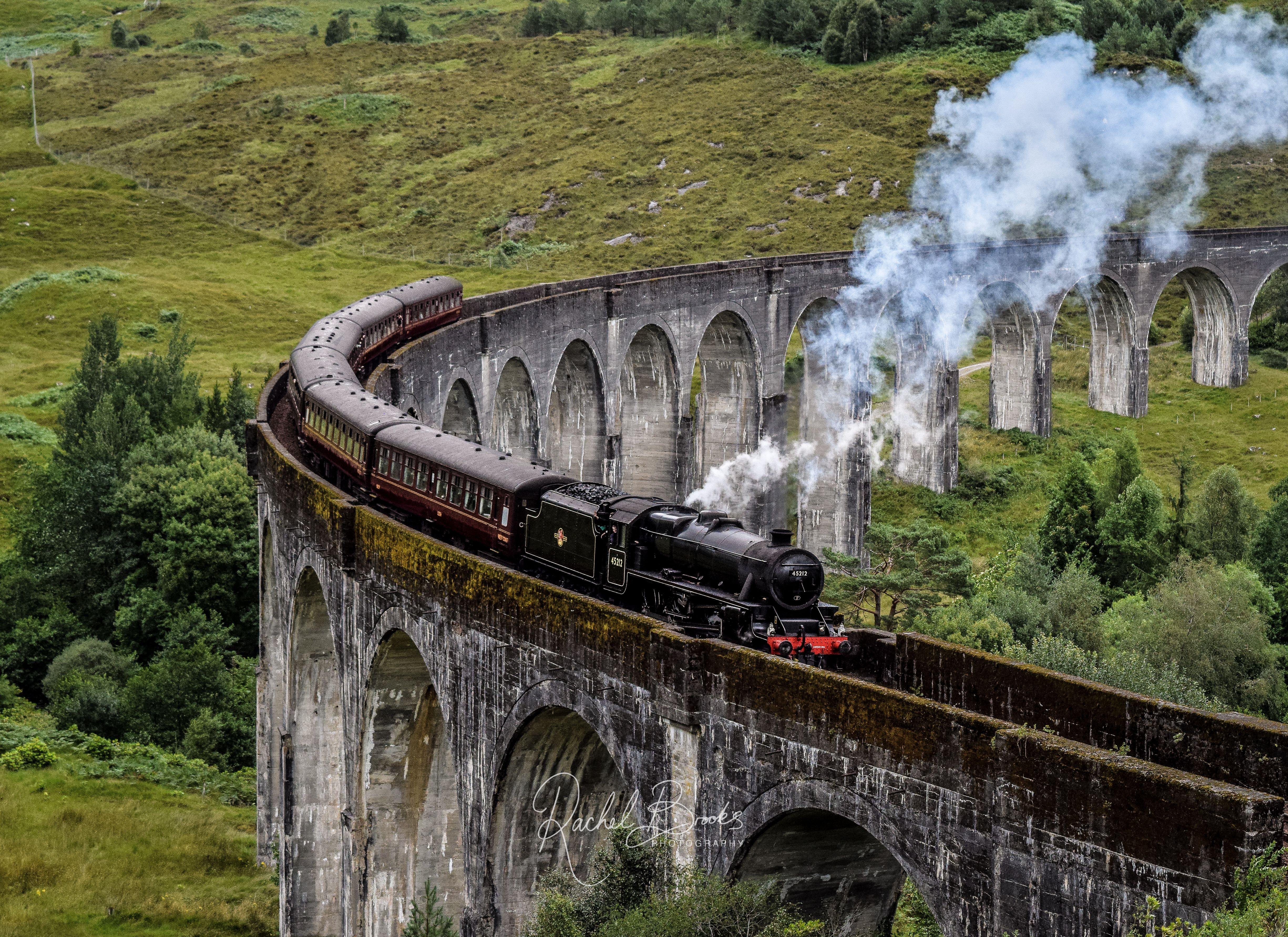 Jacobite Steam Train On The Glenfinnan Viaduct Magic Steam Etsy Fine Art Photo Photo Art Train