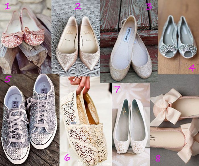 Wedding Accessories Dancing Shoes Flats For Both Felicia And Schae