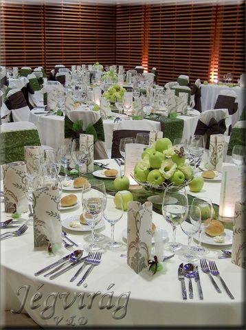 e3ee3a032a J É G V I R Á G - esküvői dekoráció, rendezvény dekoráció, menyasszonyi  csokor, esküvő