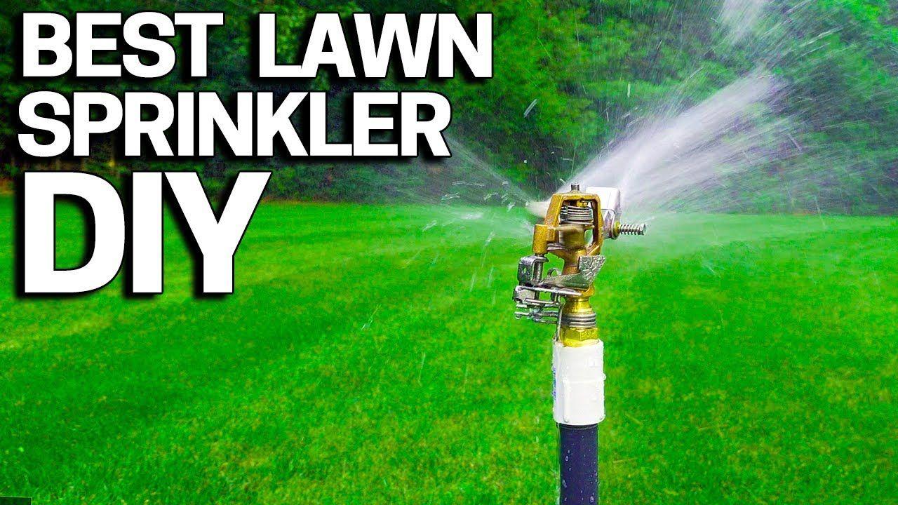 Best lawn sprinkler diy without an irrigation system