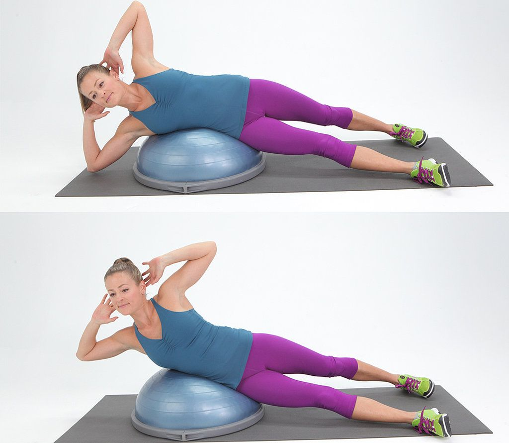 Bosu Ball Side Jumps: 3 Great Bosu-Ball Exercises