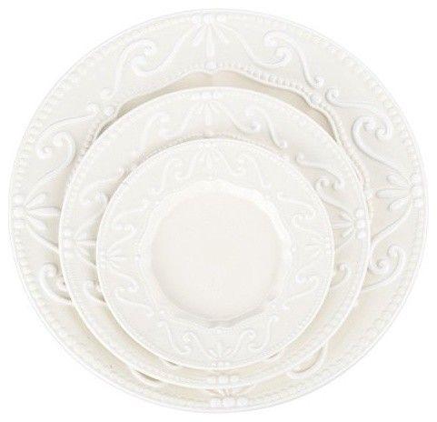 BIA Cordon Bleu Chantilly Bread and Butter Plate - Set of 4 - traditional - dinnerware  sc 1 st  Pinterest & BIA Cordon Bleu Chantilly Bread and Butter Plate - Set of 4 ...