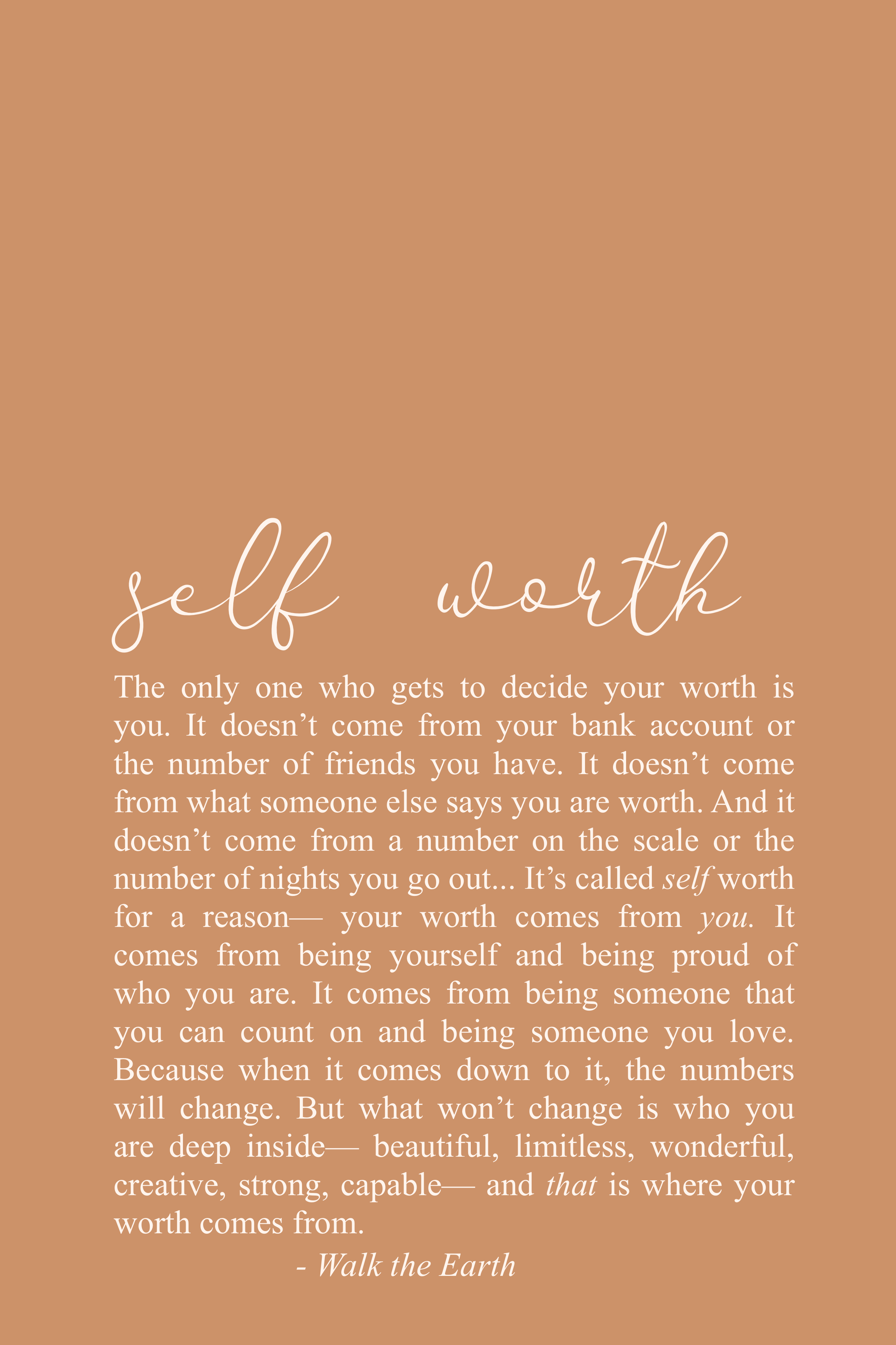 Photo of Self Worth Quotes, Encouraging Words, Inspiring Self Love Quotes & Poetry