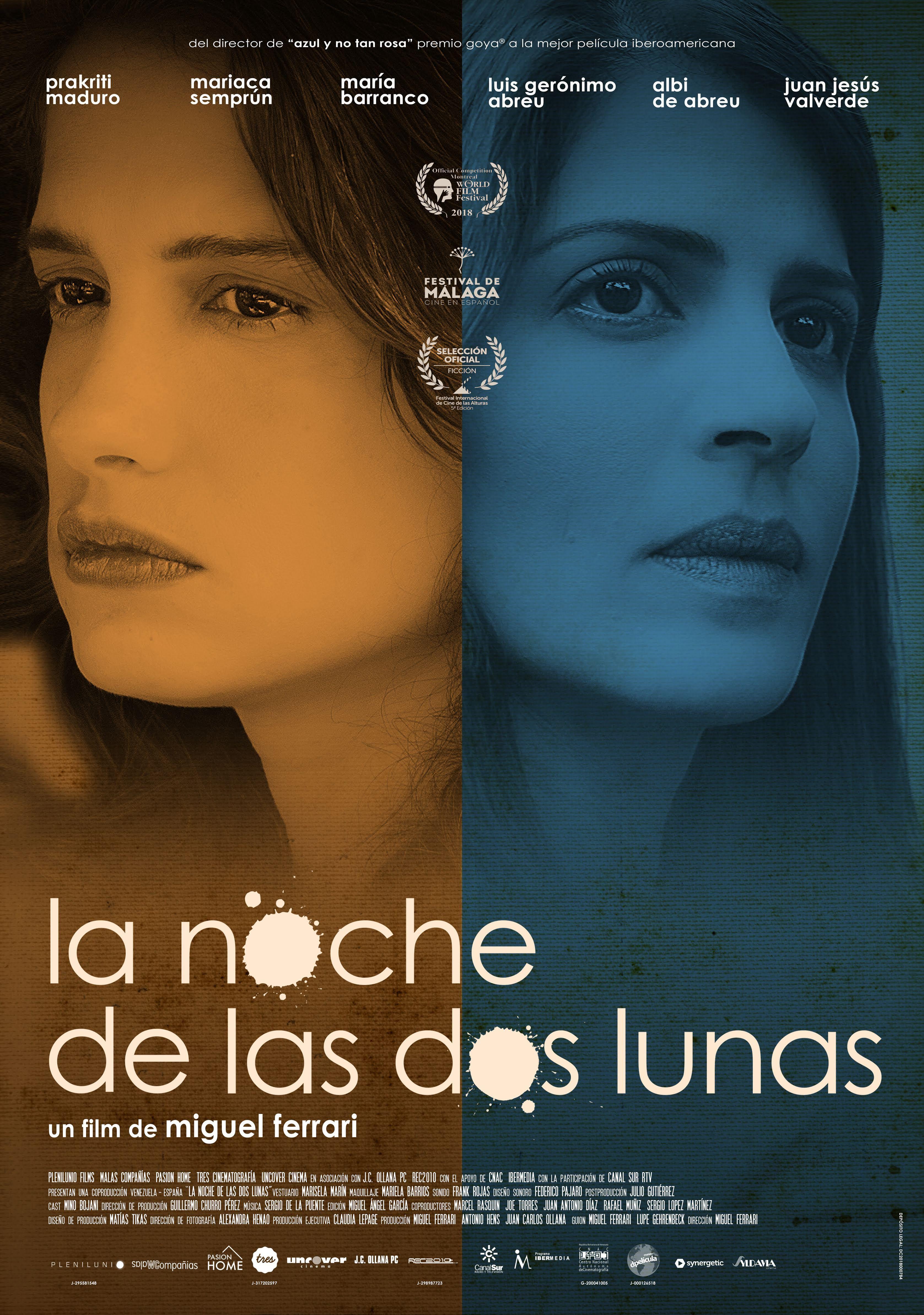 La Noche De Las Dos Lunas Salas De Cine Cine Y