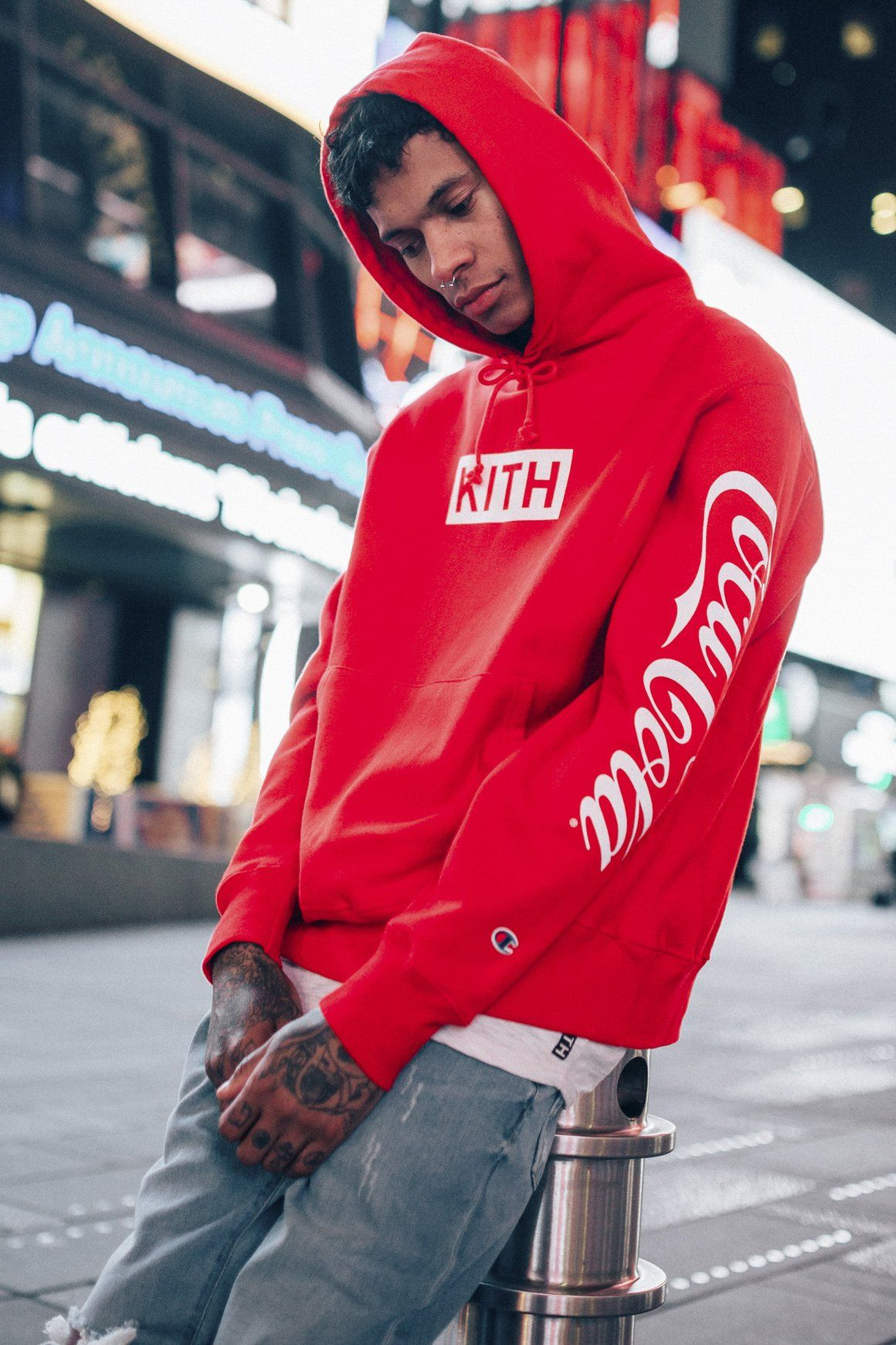 c89b21c2 KITH x Coca-Cola   STAG Style!   Hoodie outfit, Coca cola ...