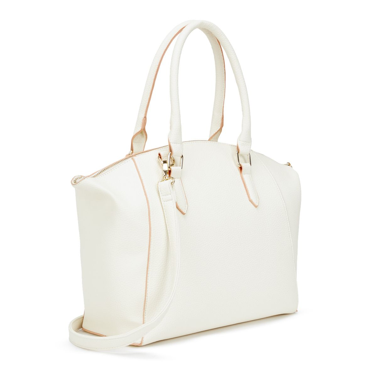 This structured, ladylike shoulder bag not only boasts clean but  transitions from work hours to after hours with ease.  Purses  ShoeDazzle   FreshStyles 43943c1f9f