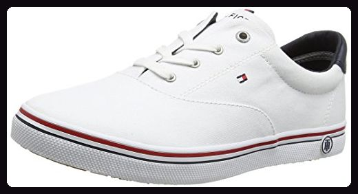 Tommy Hilfiger Damen E1285LIZA 3D3 Sneakers, Weiß (White 100