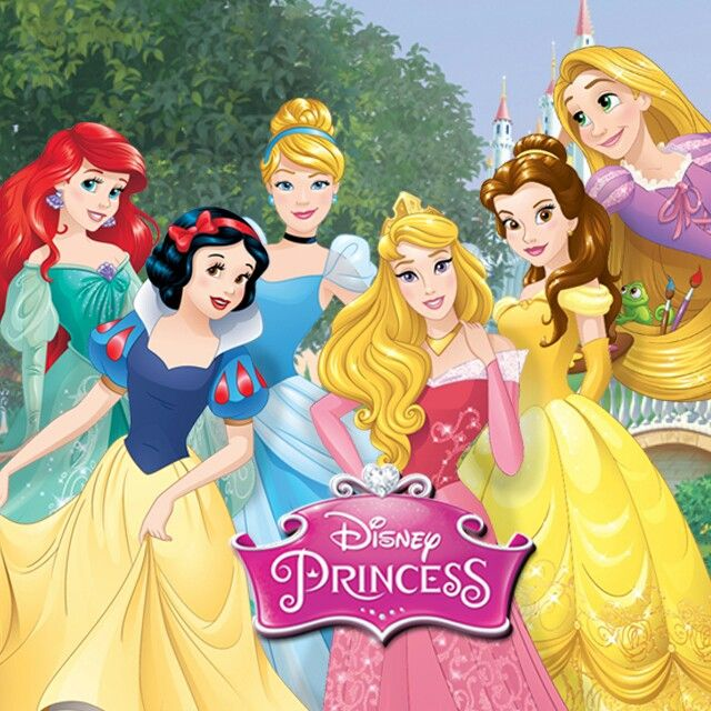 ariel cinderella rapunzel snow white aurora and belle