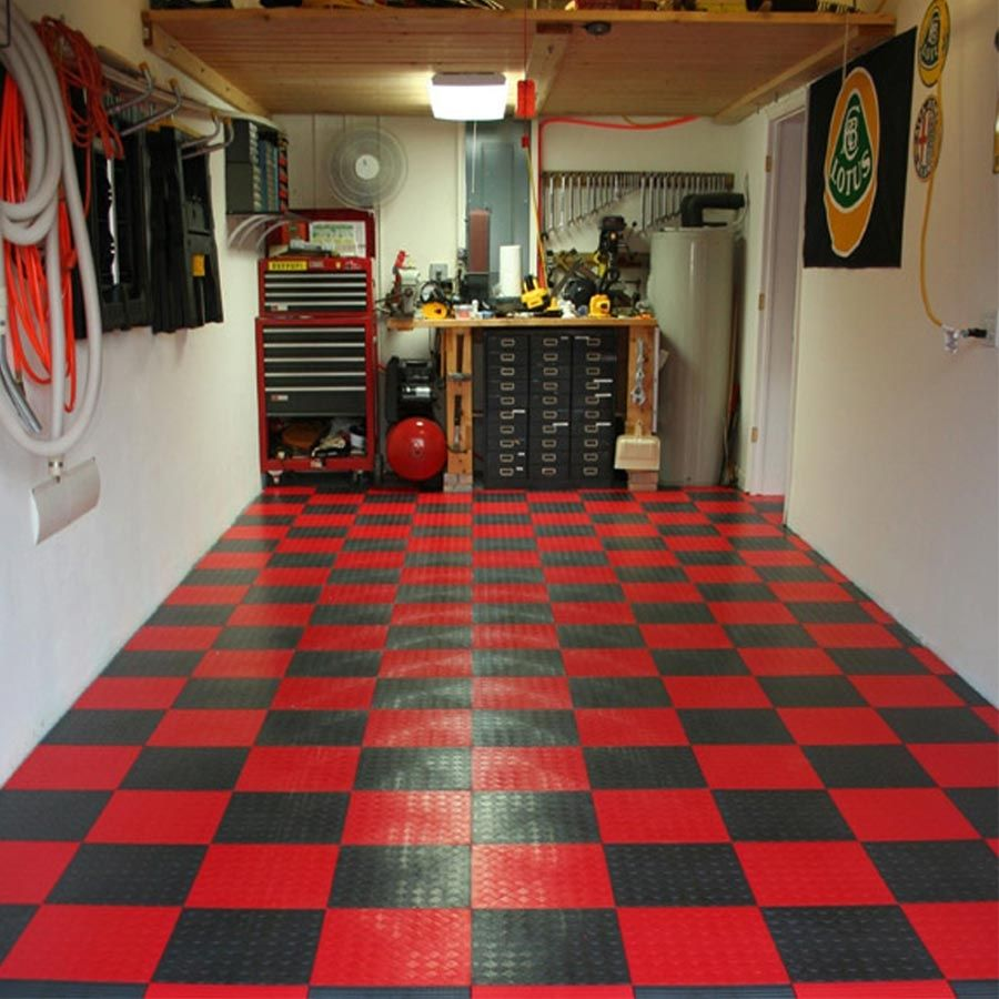 Plastic Tiles For Garage Floors Plastic Flooring In 2018