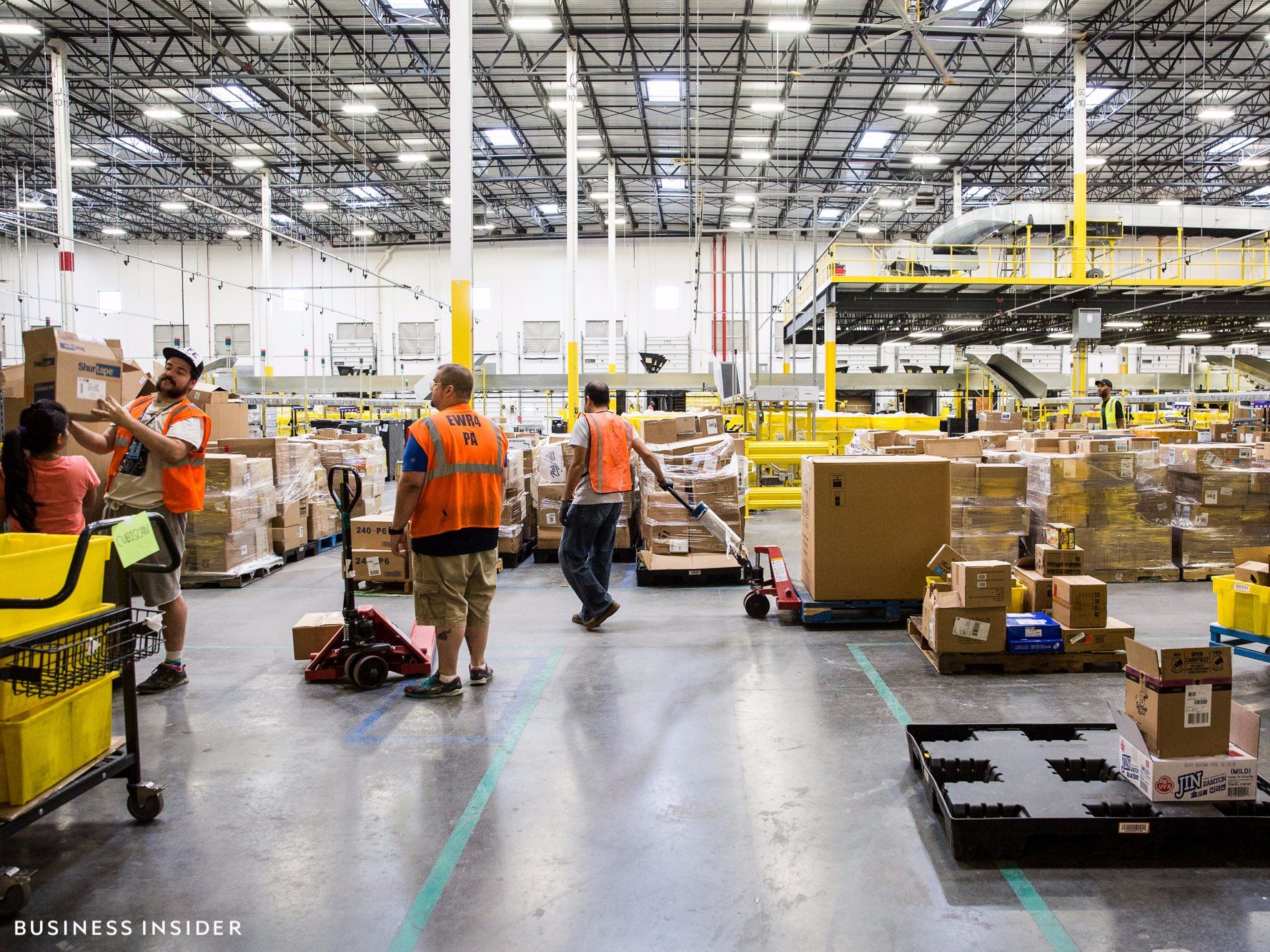 Amazon Warehouse Locations In Us Fulfillment Center Warehouse