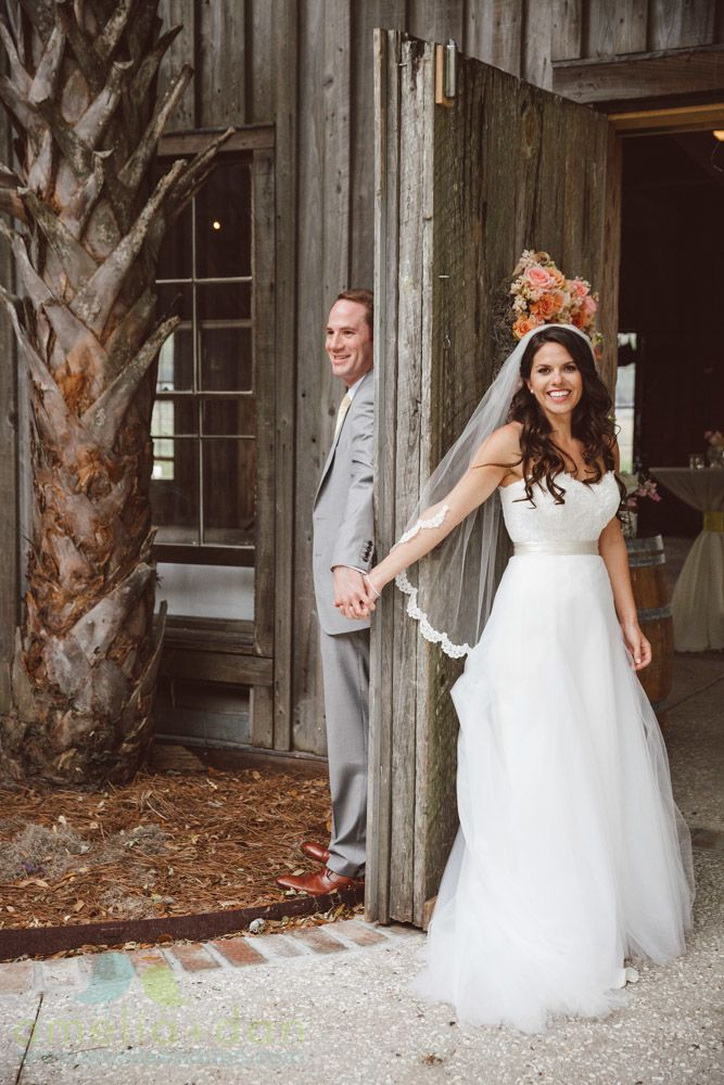 First Look Alternatives | Boone Hall | Amelia and Dan Photography