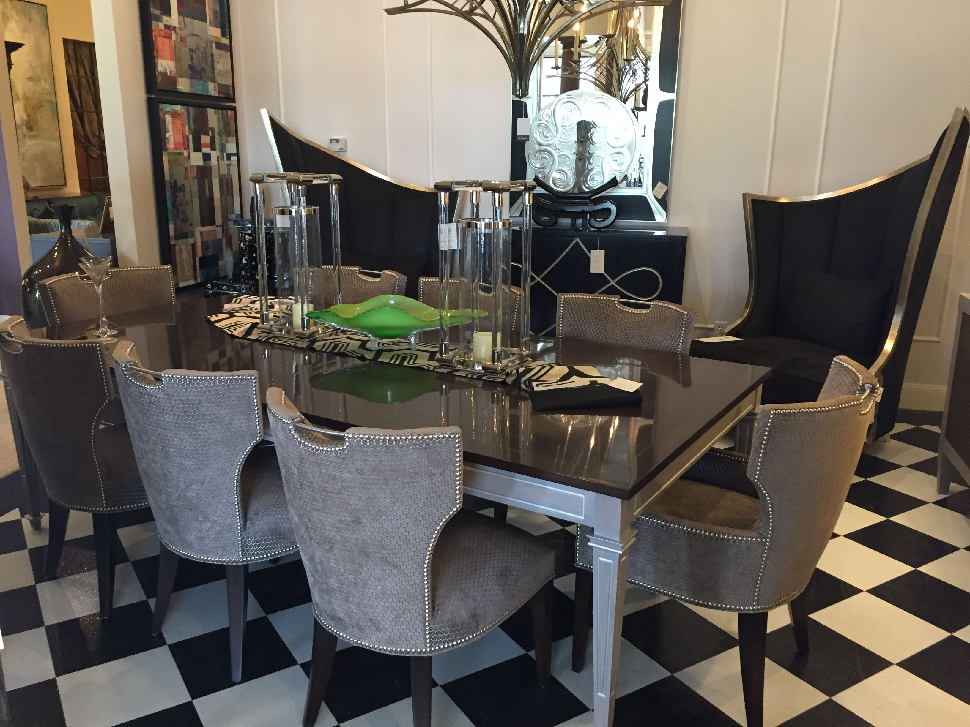 Dawson Chairs Z 940 26 Z 940 27 And Regent Dining Table 1333
