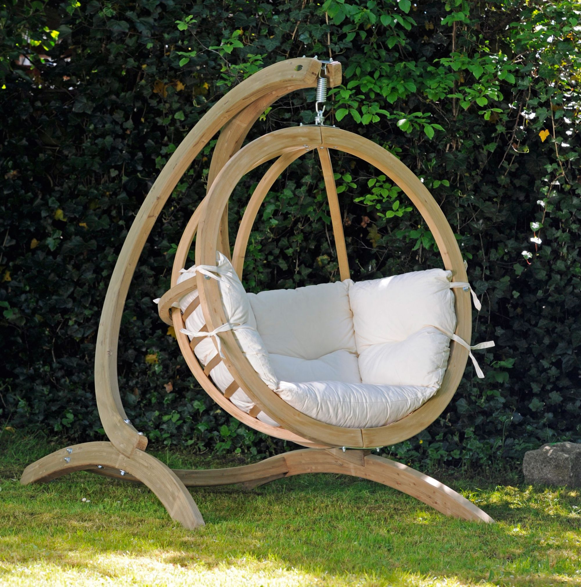 Extraordinary Swing Chair With Stand For Your Residence Concept
