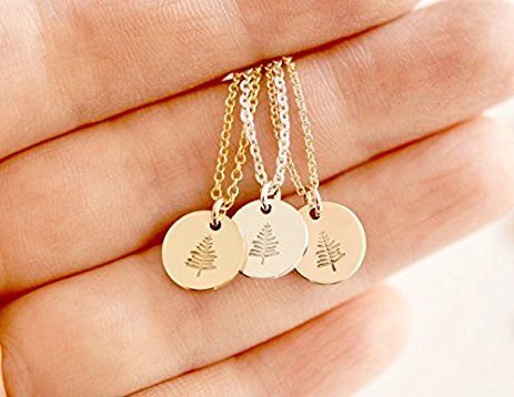 Tiny evergreen tree necklace small disc pendant necklace tiny evergreen tree necklace small disc pendant necklace evergreen disc necklace gold aloadofball Gallery
