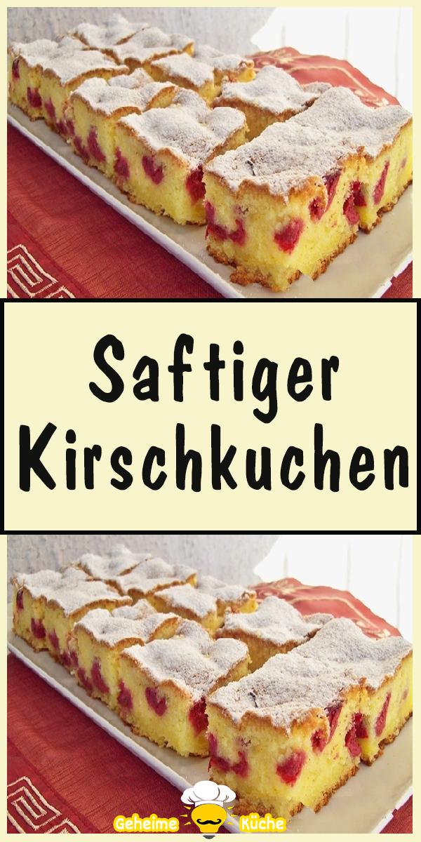 Photo of Saftiger Kirschkuchen