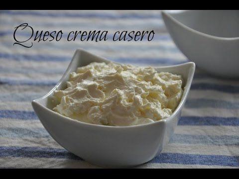 como hacer crema de queso