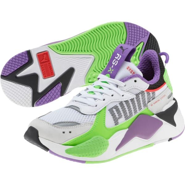 RS-X Bold Fluorescent Sneakers JR | Bold shoes, Sneakers ...