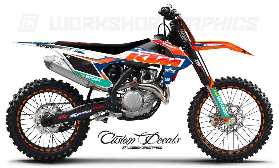 Ktm 2017 Graphics Kit Ktm Ktm Enduro Ktm Motocross