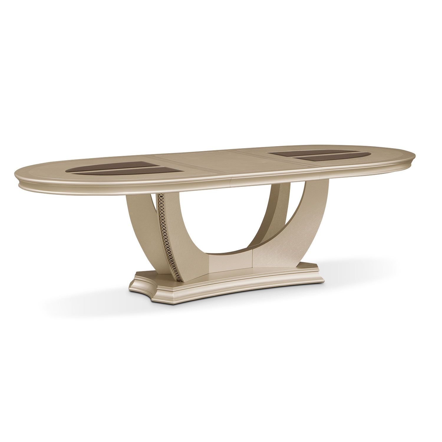Alluring Tempo When Drama And Glamour Come Together In A Design Like This It Can Only Be The Allegr Dining Table Oval Table Dining Coffee Table Design Modern [ 1500 x 1500 Pixel ]