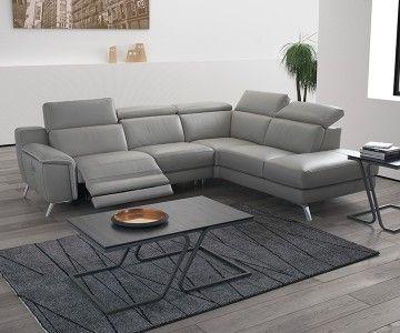 canap d 39 angle cuir naxos collection 2017 nouveaux. Black Bedroom Furniture Sets. Home Design Ideas
