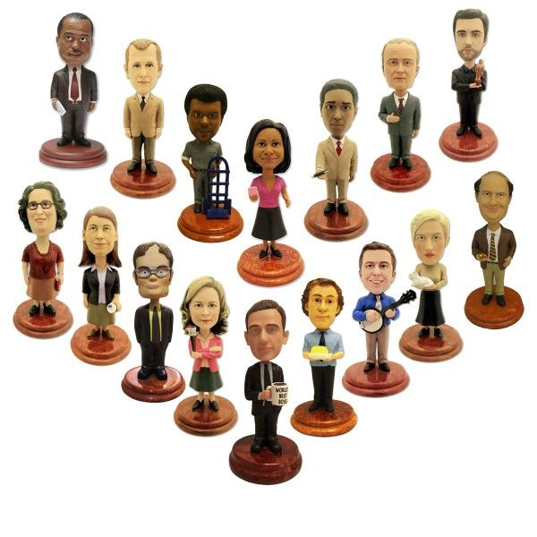 The Office Complete Bobblehead Set