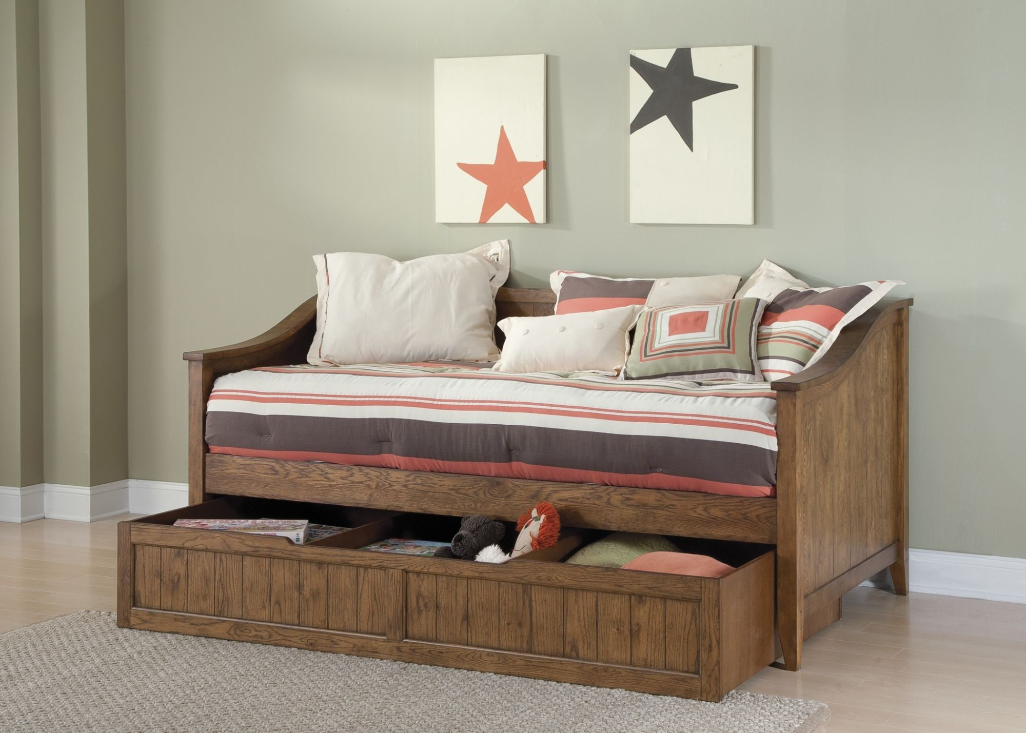Wooden Daybeds With Drawers Wooden Daybeds With