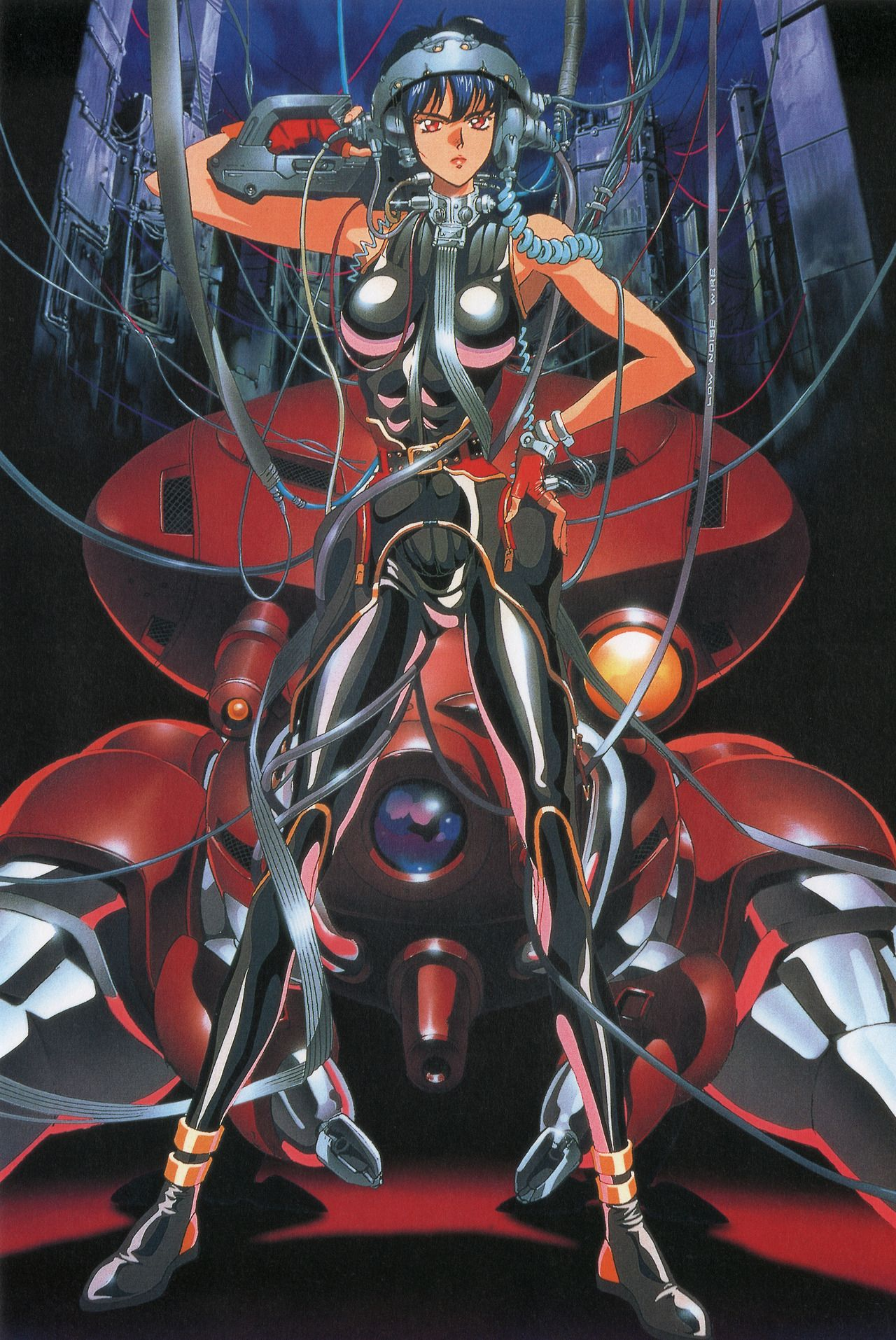 Durandalbebop Ghost In The Shell Artwork For The Playstation Game By Toshihiro Kawamoto Shell Artwork Ghost In The Shell Anime