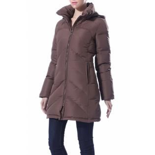 BGSD Womens Quilted Hooded Vest