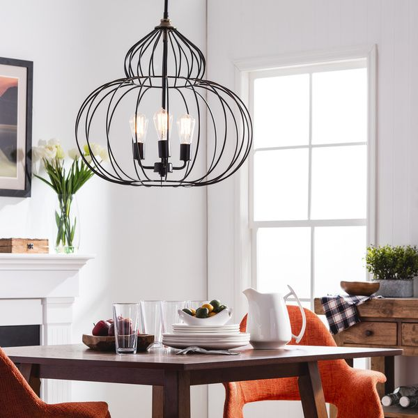Renate Mushroom Chandelier Distressed Iron Black Finish For Traditional Flair Measures Dimensions Are 20 High And 22 1 4 Wide
