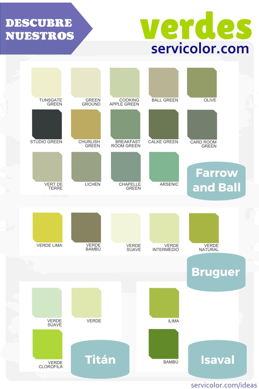 Pintura verde para equilibrar tu casa ventanas y puertas - Tonos de pintura ...