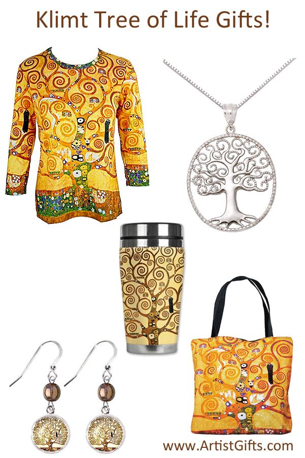 If you are a fan of Klimt you will love our Tree of Life Gifts! Free U.S. Shipping everyday on these and other Klimt Art Gifts!