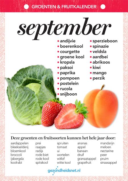 Betere Seizoensgroenten september   Fruit voordelen, Groenten, Voeding RH-82