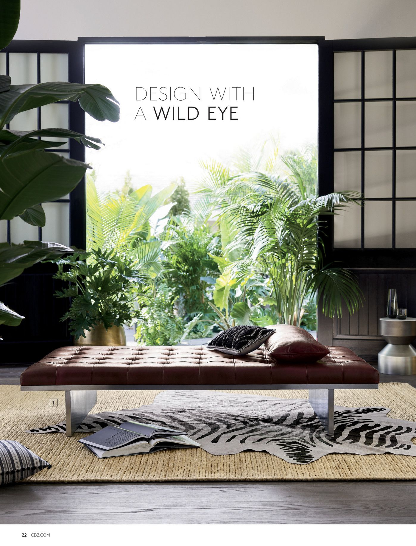 Best Cb2 July Catalog 2018 Page 22 23 Living Room Decor 400 x 300