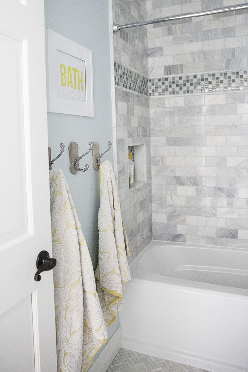Bathroom makeover + free printable - I Heart Nap Time | Bathroom Re ...