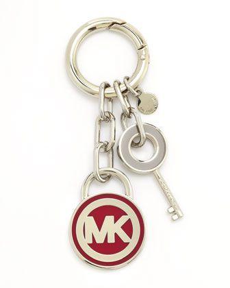 57557820b859 MICHAEL Michael Kors Lock   Key Fob - Michael Kors