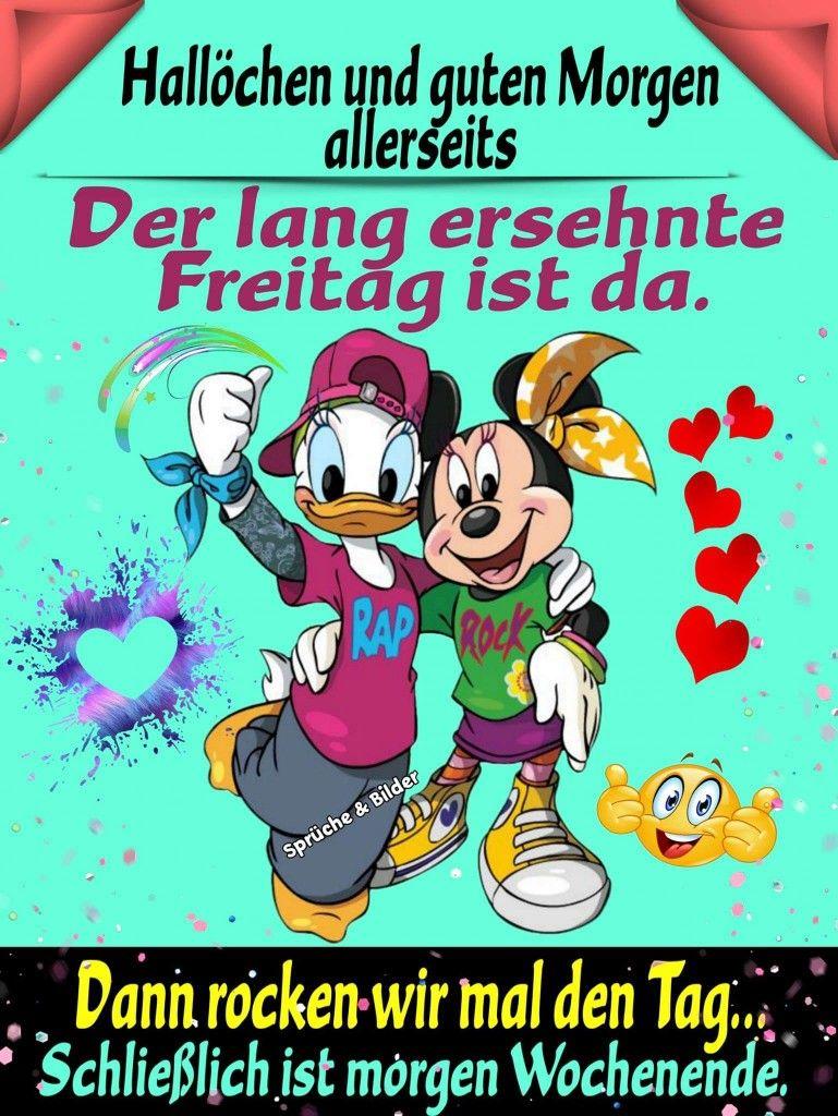 Pin Von K H Auf Disney Guten Morgen Lustig Freitag