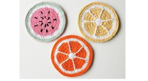 10 Food Crochet Patterns for June