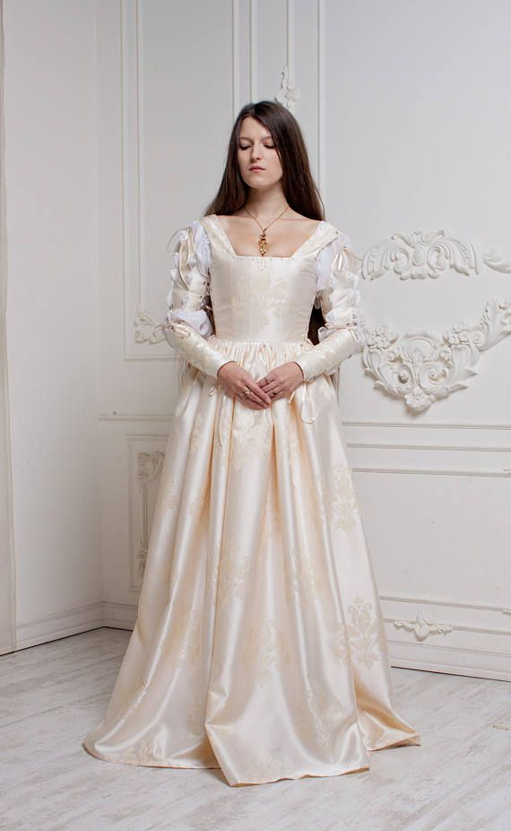 Creamy white dress gives an impression of purity and angel-look. Will be  perfect for some very special occasions 7bce0befe