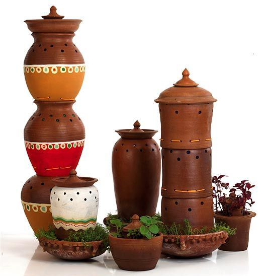 Swiss Pro Compost Bin Pail Countertop Stoneware Ceramic 1 Gal Kitchen Orange Red Stoneware Ceramics Stoneware Compost Bin
