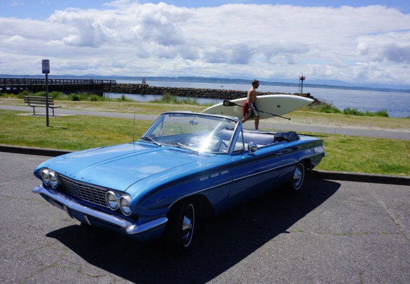 1962 Car Of The Year Buick Special Convertible Marlin Blue Custom Interior Buick Buick Skylark Chevy