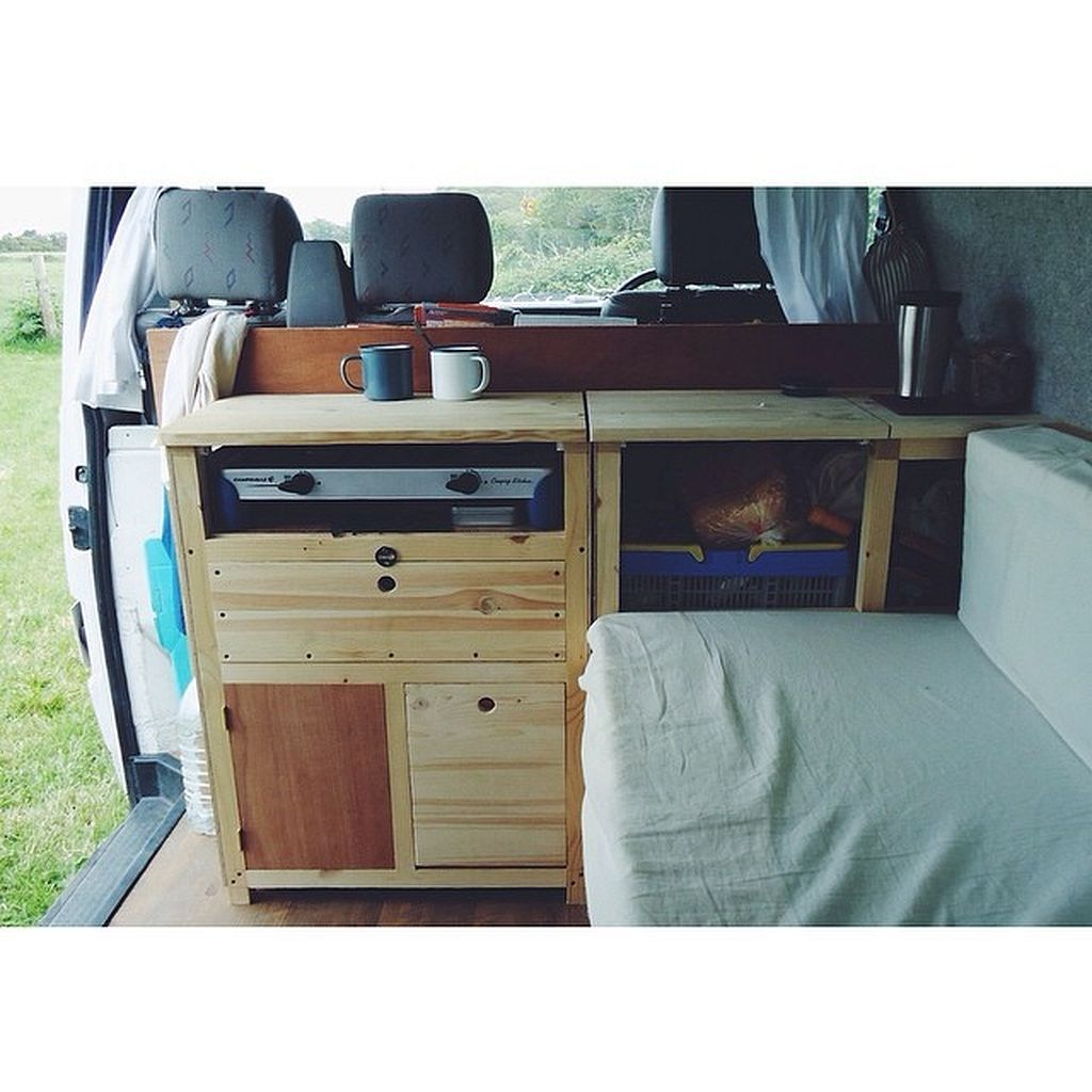 Design VW Campervan Interior Layout Ideas