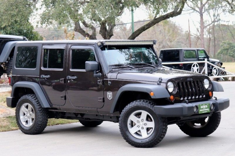 2013 Rugged Brown Jeep Wrangler Unlimited 24995 Jeep