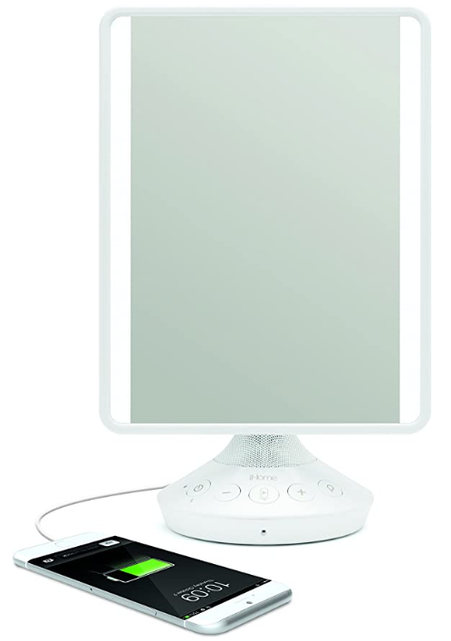 Things To Ask For For Christmas Teenage Girl: Adjustable Vanity Mirror With Bluetooth Audio