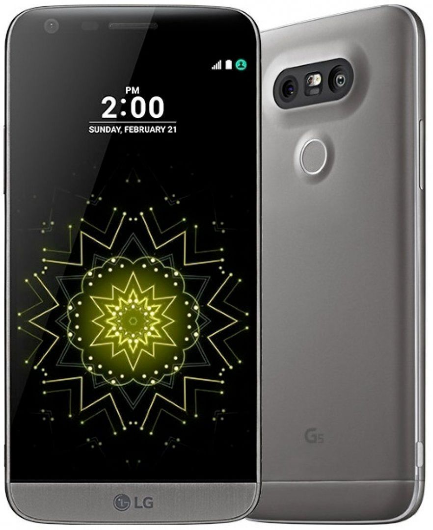 Lg g5 ls992 32gb titan gray sprint android 4g lte