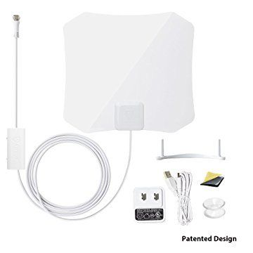 ANTOP Amplified Digital TV Antenna Indoor 30/45 Mile Long Range with Built-in Smart Switch Amplifier AND 10ft Coaxial Cable AT-132B. October 16 2019 at 11:54AM. Amazon Goldbox Deals.
