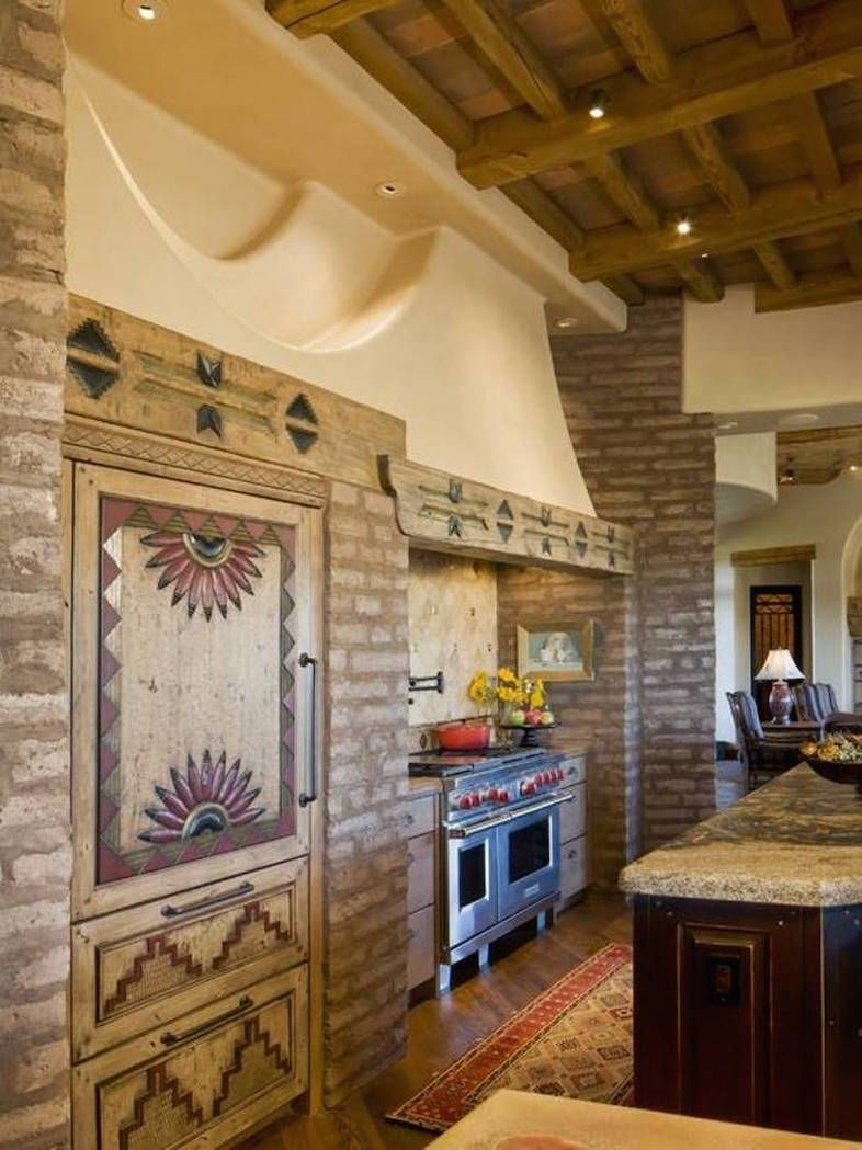 23 Southwestern Kitchen Designs To Your Home Interior God Kitchen Cabinet Styles Rustic Country Kitchens Western Decor