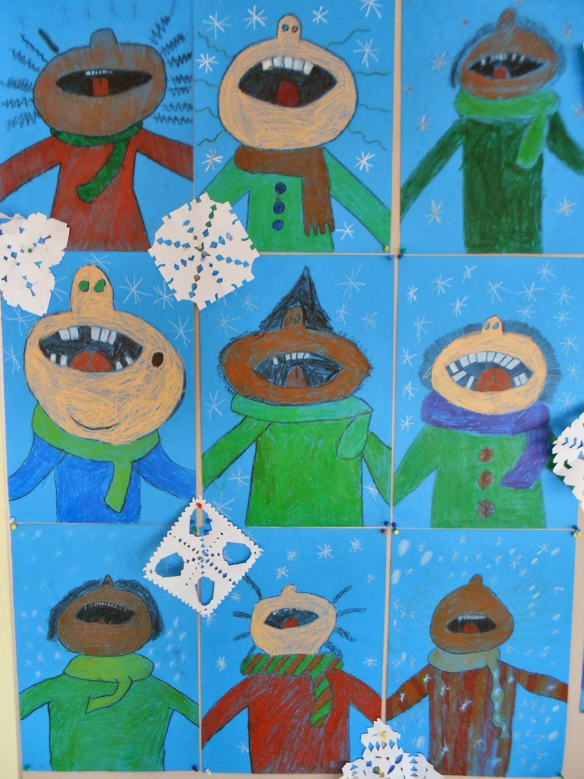 krabbelwiese: Wie schmeckt eigentlich Schnee? Klasse 3/4 | Creativ ...